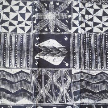 African indigo batik