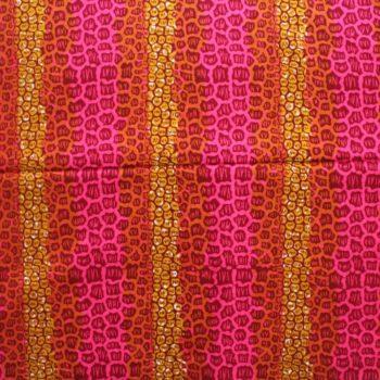 Funky Leopard Print Ankara
