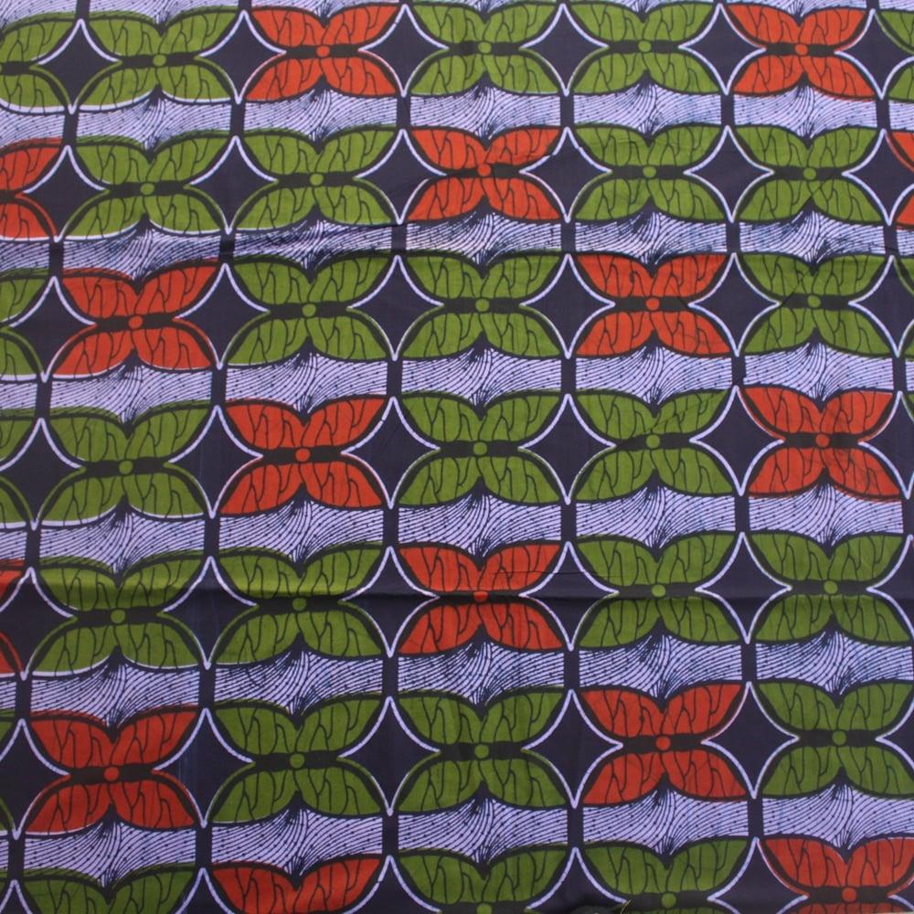 Butterfly Print Ankara