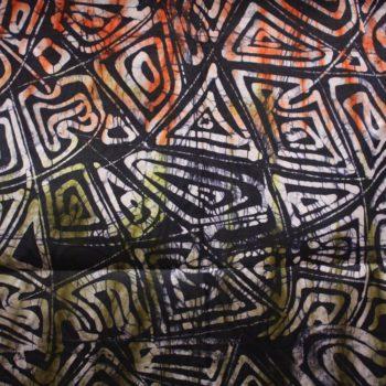 Multicoloured Handmade Batik