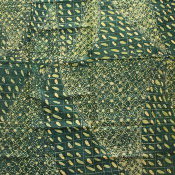 Green and Yellow Nigerian Batik