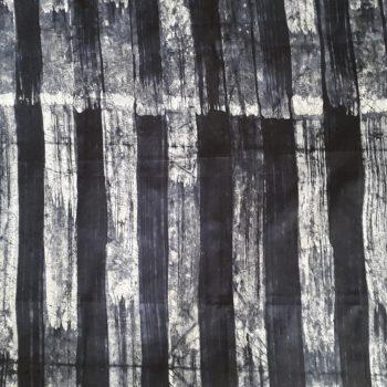 Navy Batik Fabric
