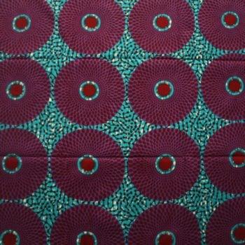 Nsu Bura Turquoise and Purple