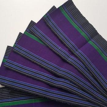 Purple Aso Oke